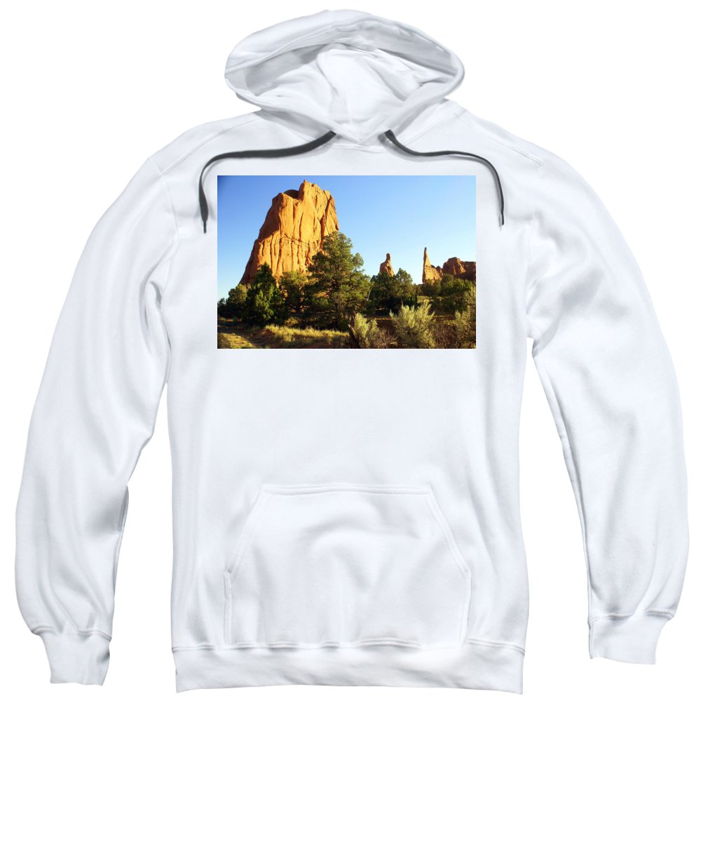 Utah Sweatshirt featuring the photograph Kodachrome Basin I by Marty Koch