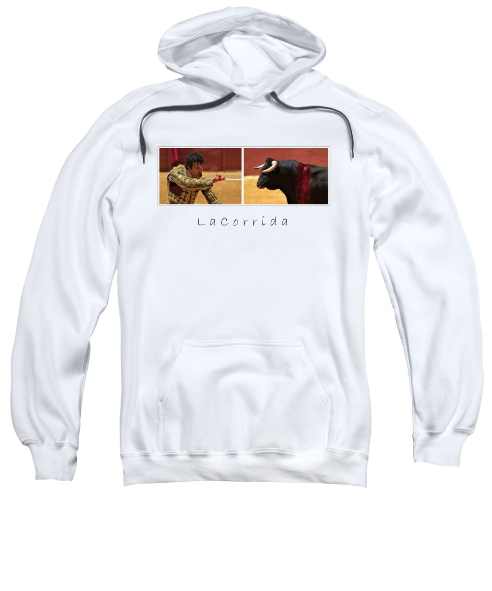 Poster Sweatshirt featuring the photograph La Corrida by Michael Mogensen