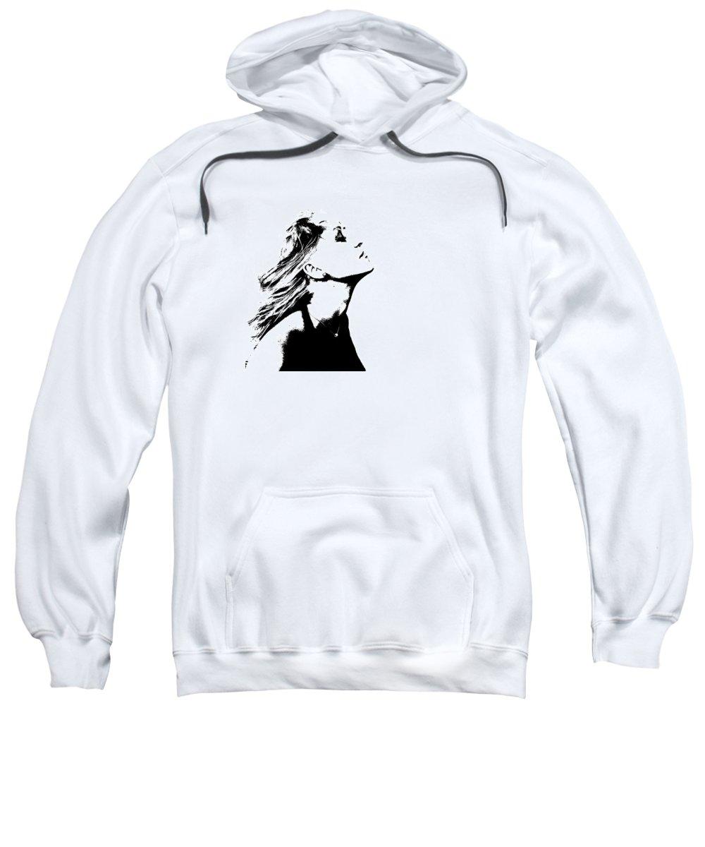 Woman Sweatshirt featuring the photograph La Dolce Vita Lady I by La Dolce Vita