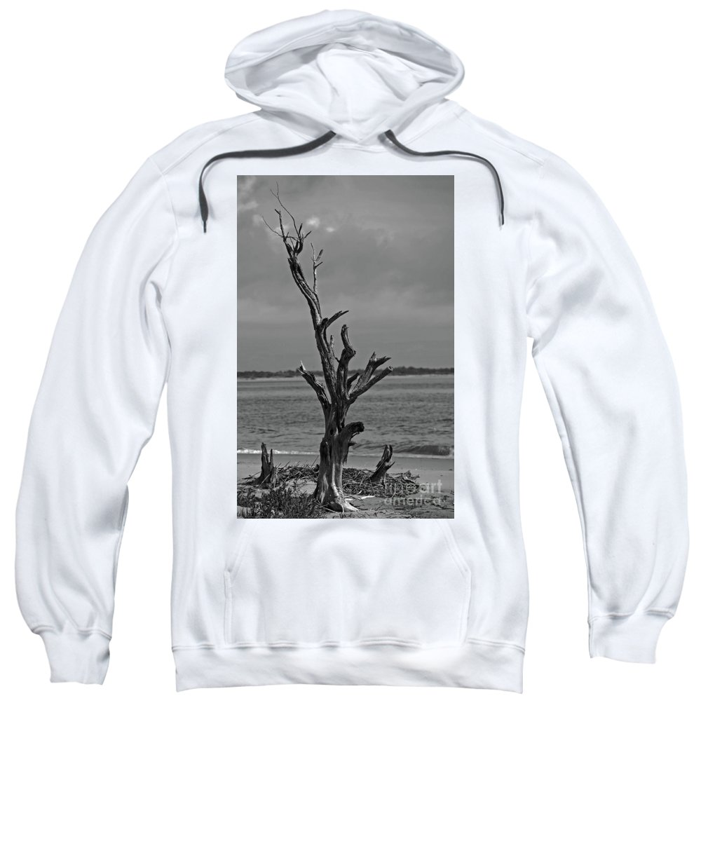 Maritime Sweatshirt featuring the photograph Last Man Standing by Skip Willits