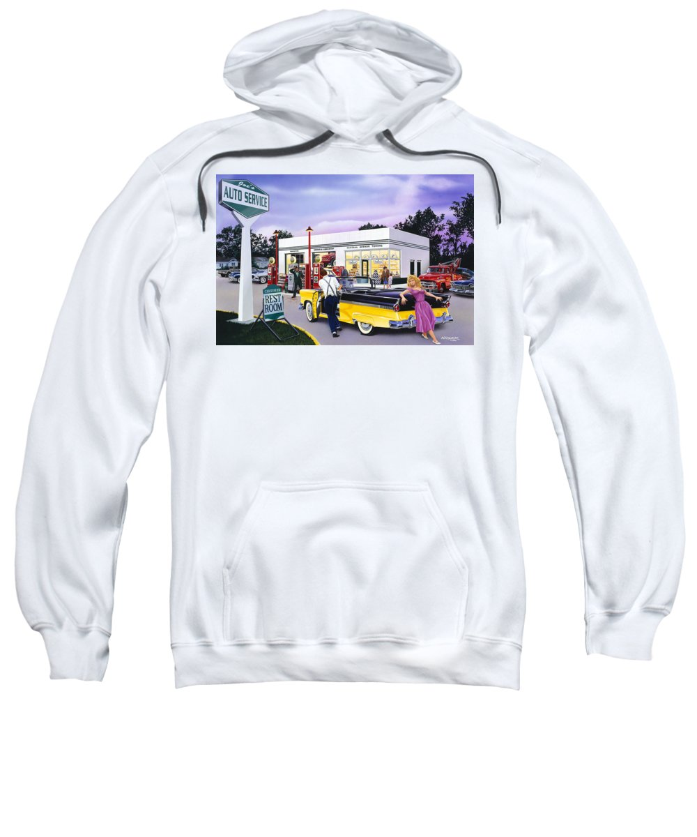 Adult Sweatshirt featuring the photograph Late For The Prom by Bruce kaiser