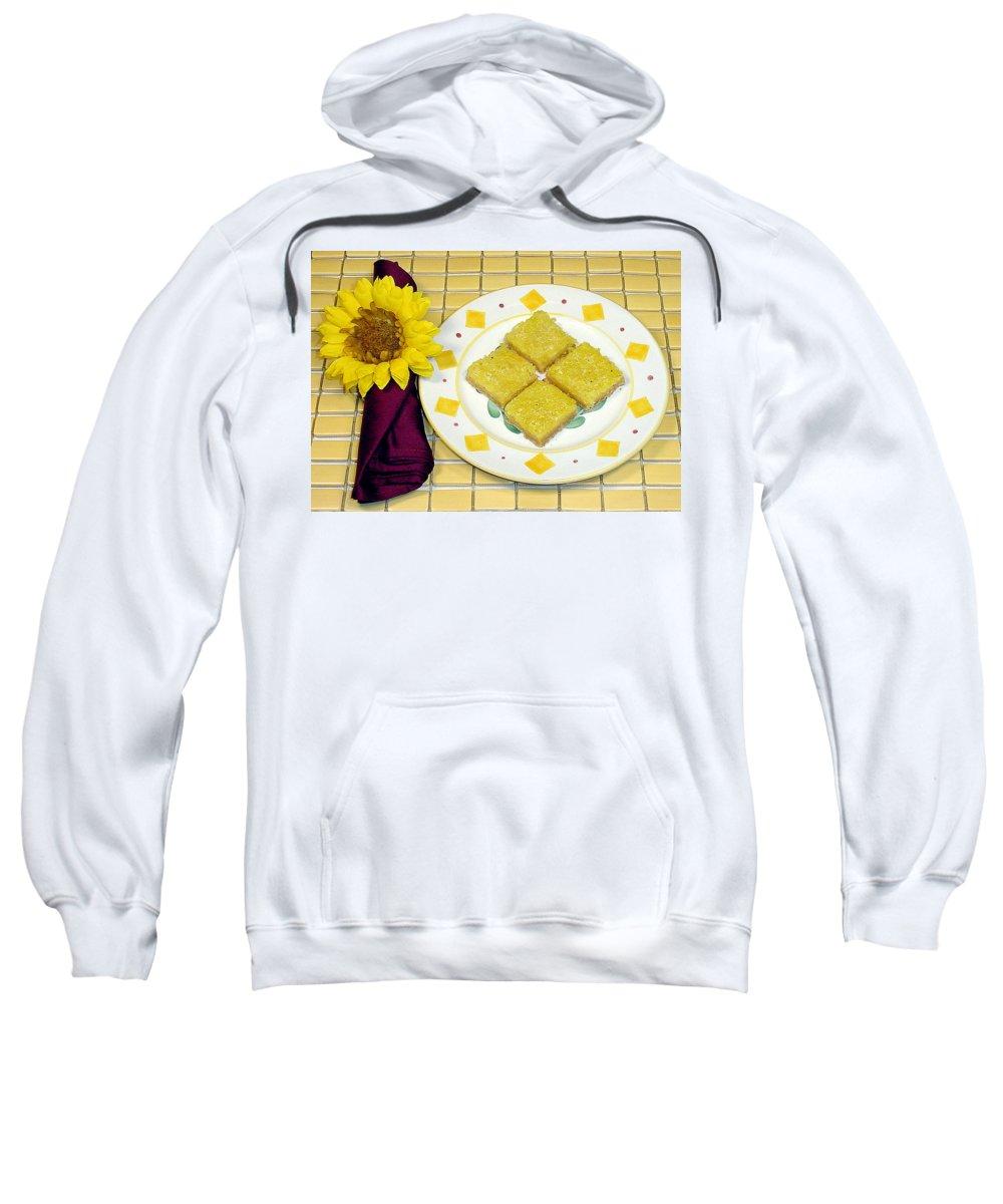 Lemon Sweatshirt featuring the photograph Lemon Candy Bars by Robert Meyers-Lussier