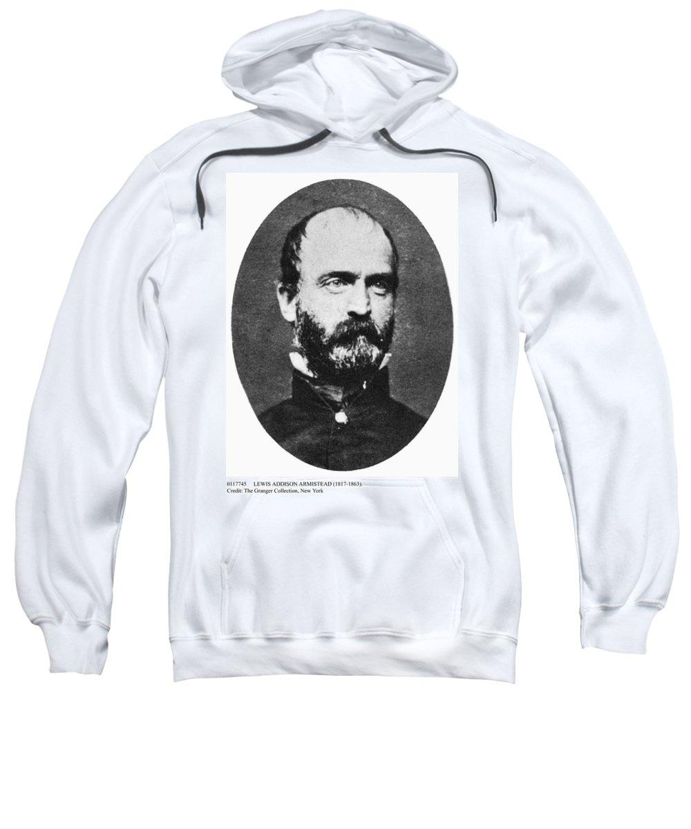 19th Century Sweatshirt featuring the photograph Lewis Addison Armistead by Granger