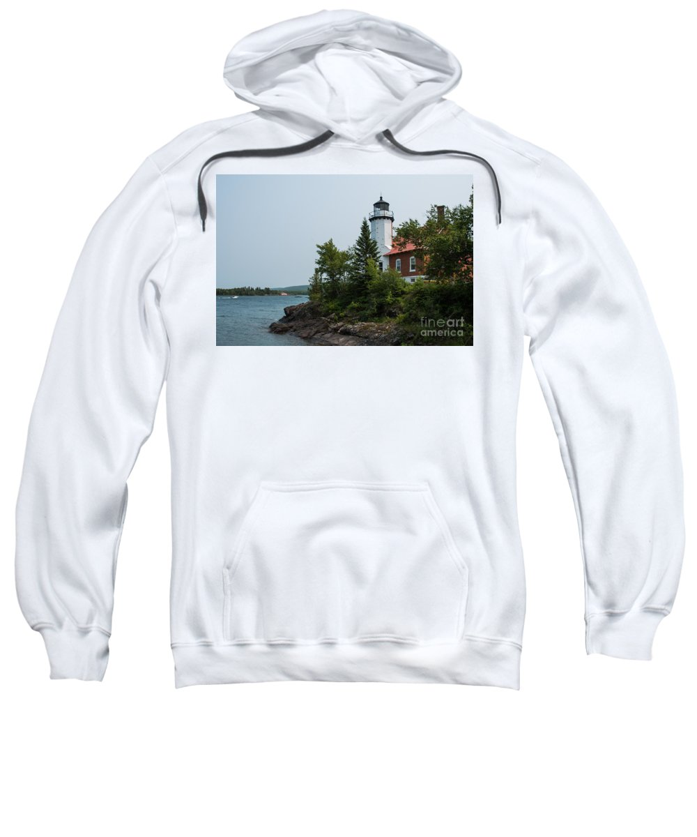 Lighthouse Sweatshirt featuring the photograph Lighthouse 2 by Wesley Farnsworth
