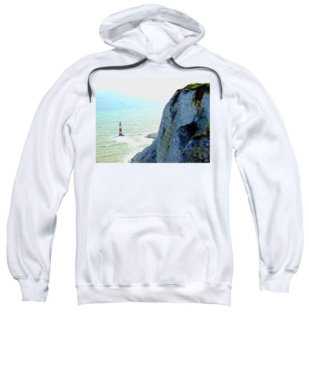 Lighthouse Sweatshirt featuring the photograph Lighthouse by Heather Lennox