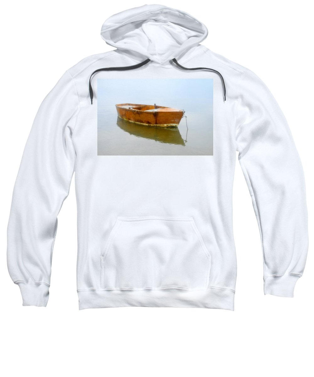 Boat Sweatshirt featuring the photograph Little Boat by David Lee Thompson