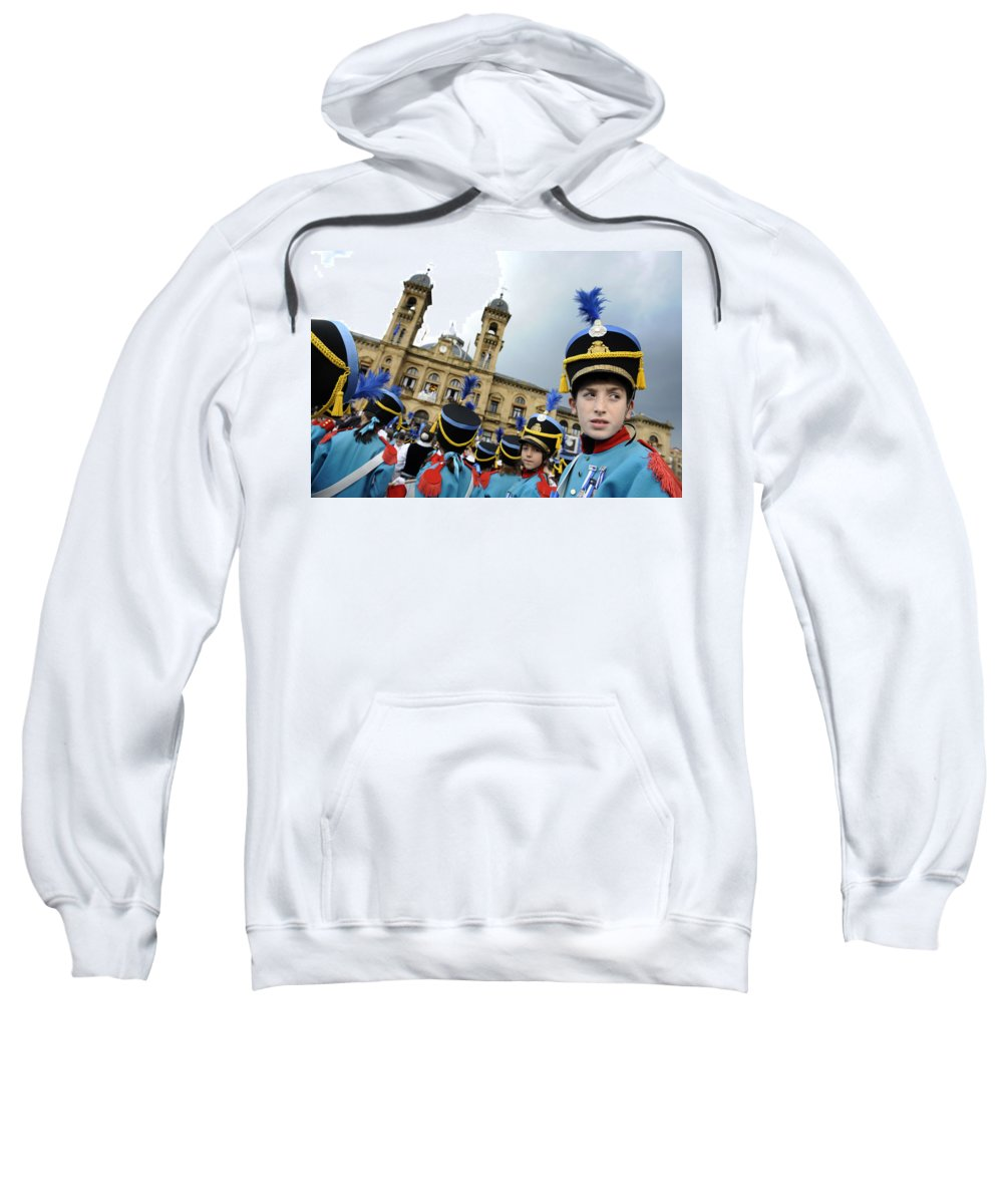 Spain Sweatshirt featuring the photograph Little Soldiers Iv by Rafa Rivas