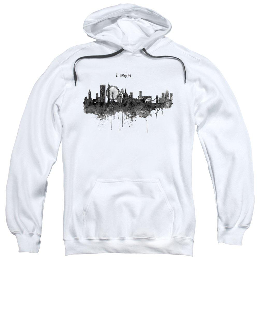 London Paintings Hooded Sweatshirts T-Shirts