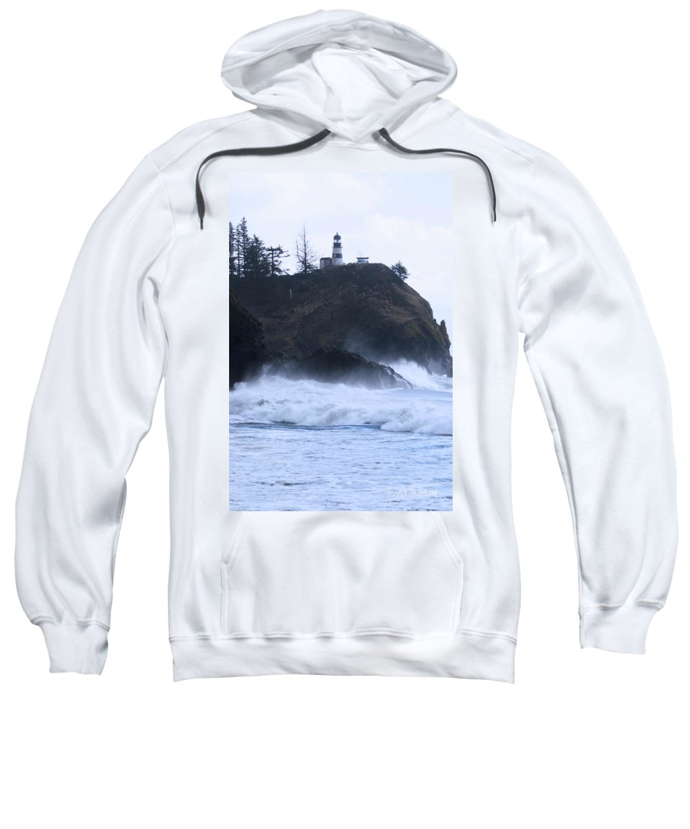 Long Beach Sweatshirt featuring the photograph Long Beach 2018 Dsc_4016 by Safe Haven Photography Northwest