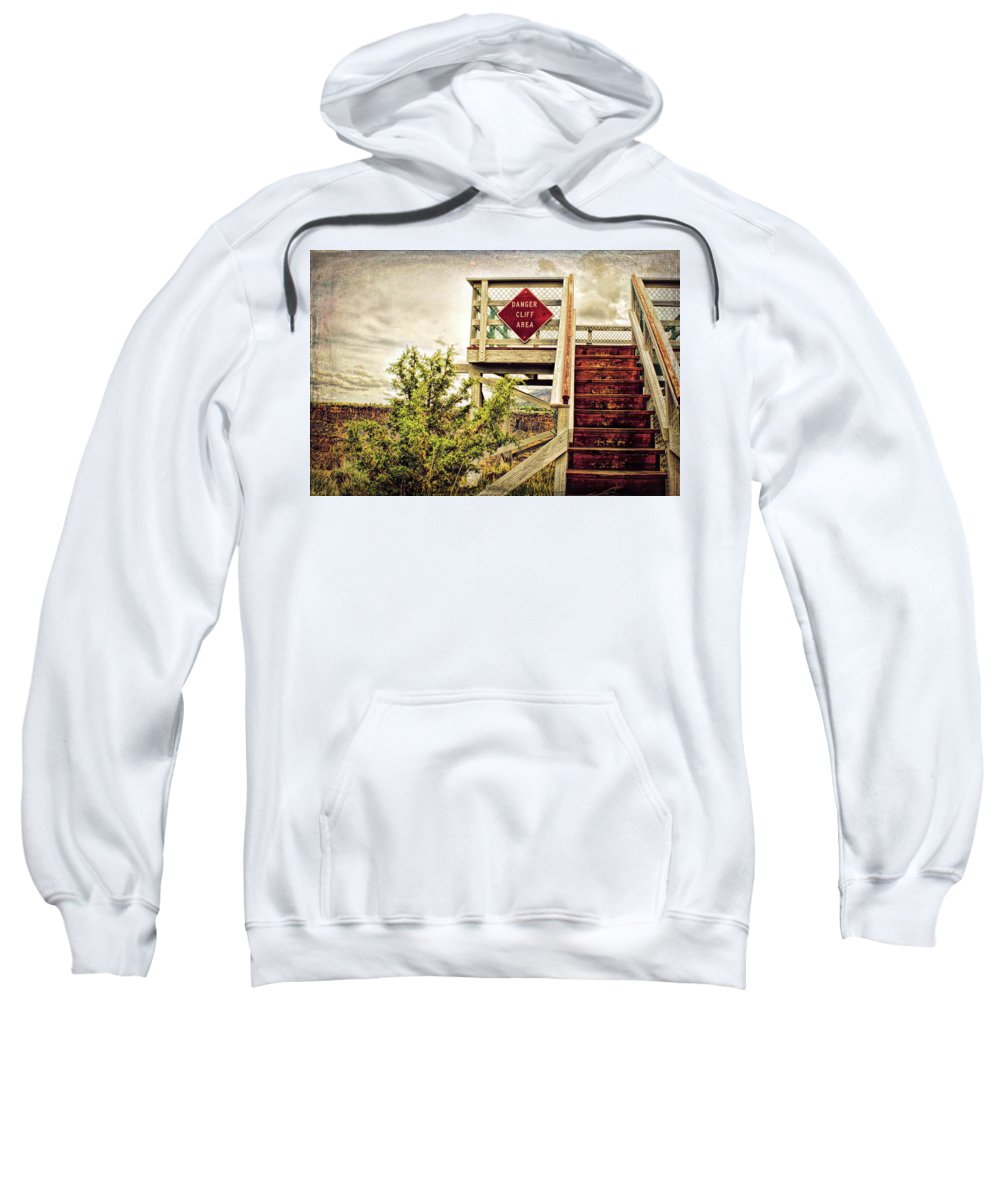 Retro Sweatshirt featuring the photograph Look Out by Kristen Wilcox