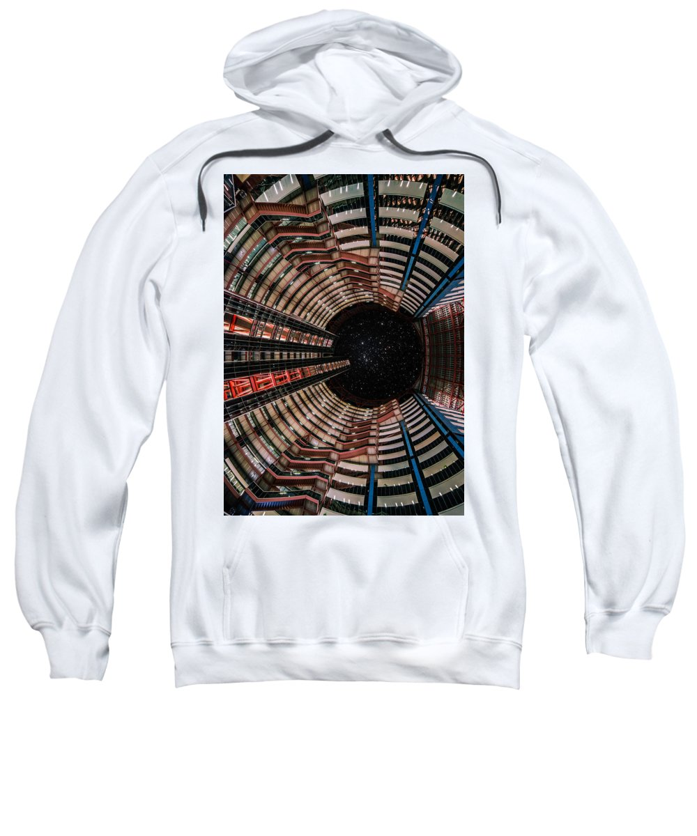 Sweatshirt featuring the photograph Look Up To The Stars by Andres Marin