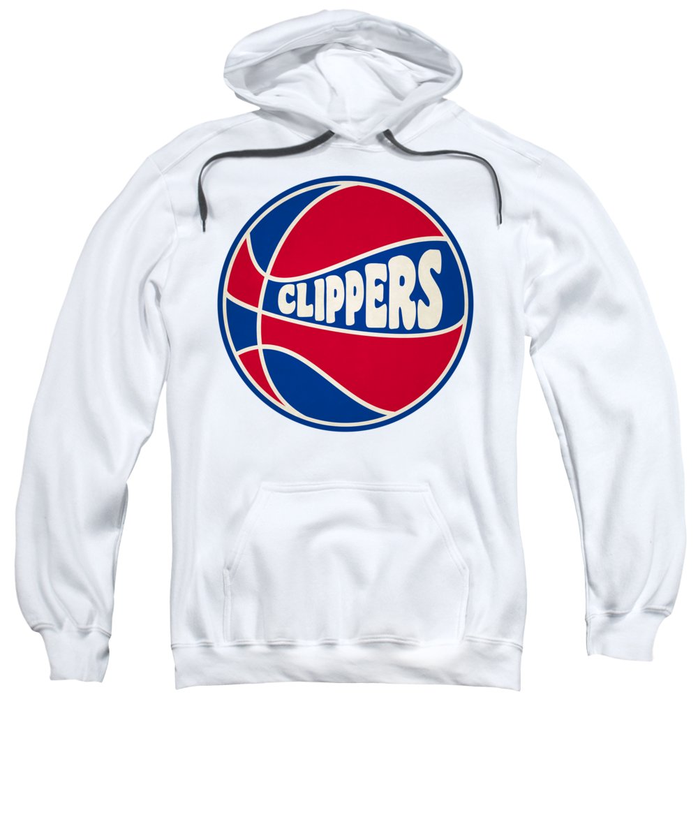 Clippers Sweatshirt featuring the photograph Los Angeles Clippers Retro Shirt by Joe Hamilton