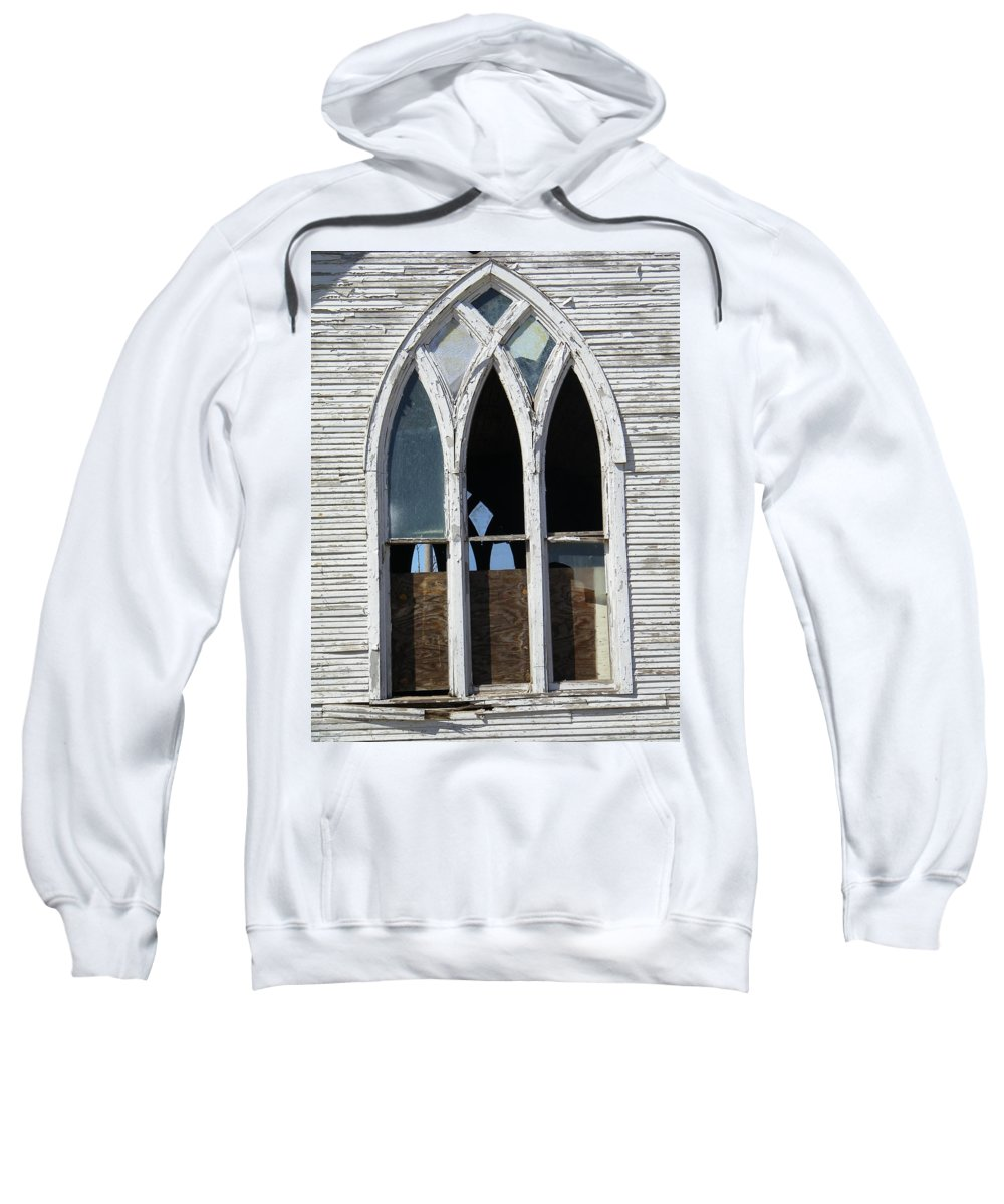 Church Sweatshirt featuring the photograph Lost by Gale Cochran-Smith