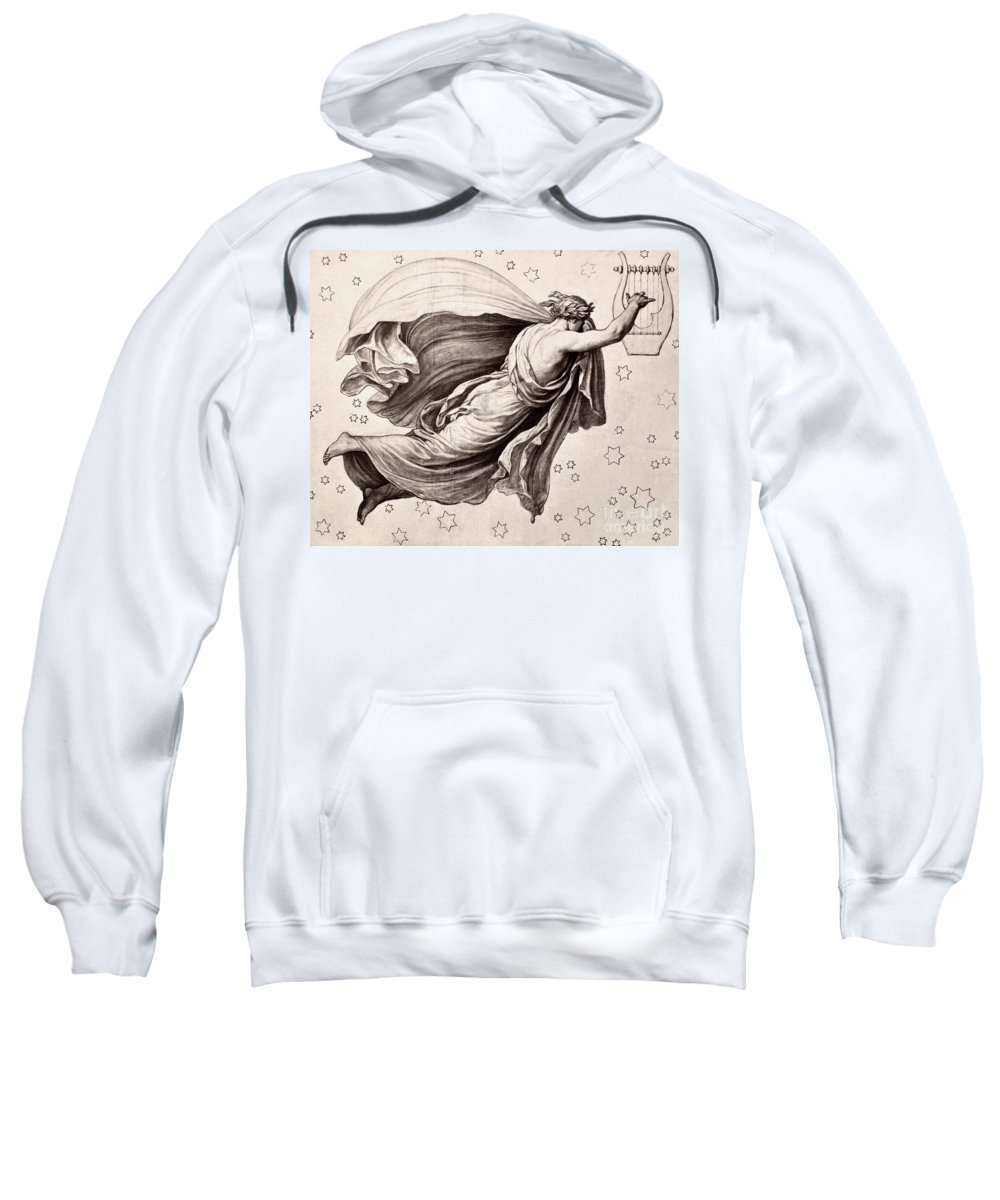 Ancient Sweatshirt featuring the photograph Lyre Of Orpheus by Granger