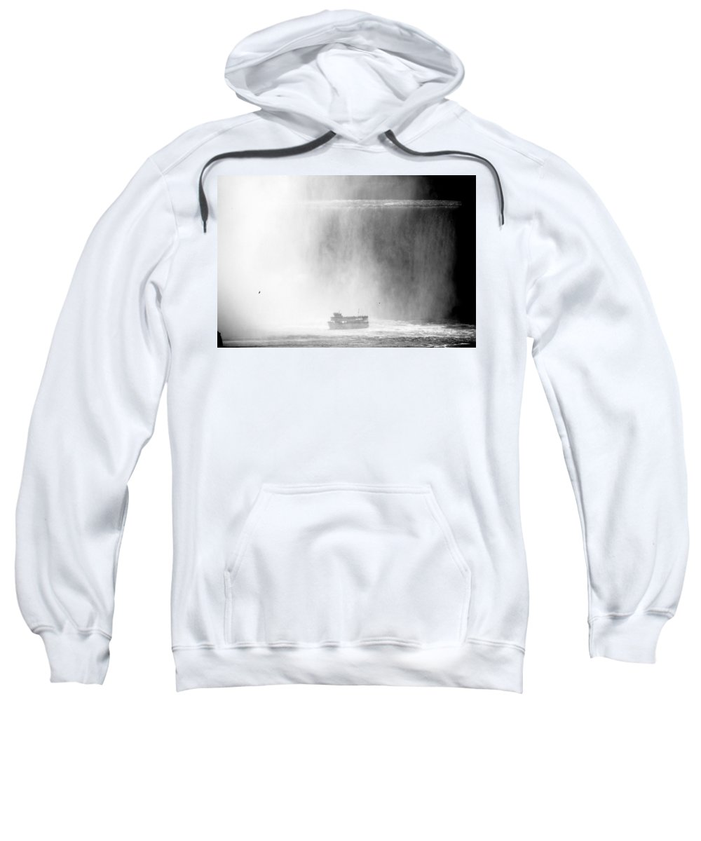 Niagara Falls Sweatshirt featuring the photograph Maid Of The Mist 1 by Andrew Fare