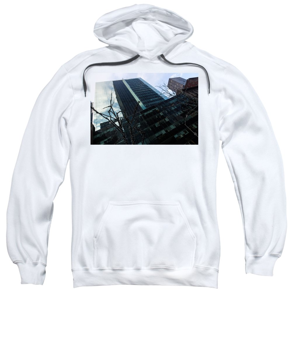 Georgia Mizuleva Sweatshirt featuring the photograph Manhattan Left by Georgia Mizuleva