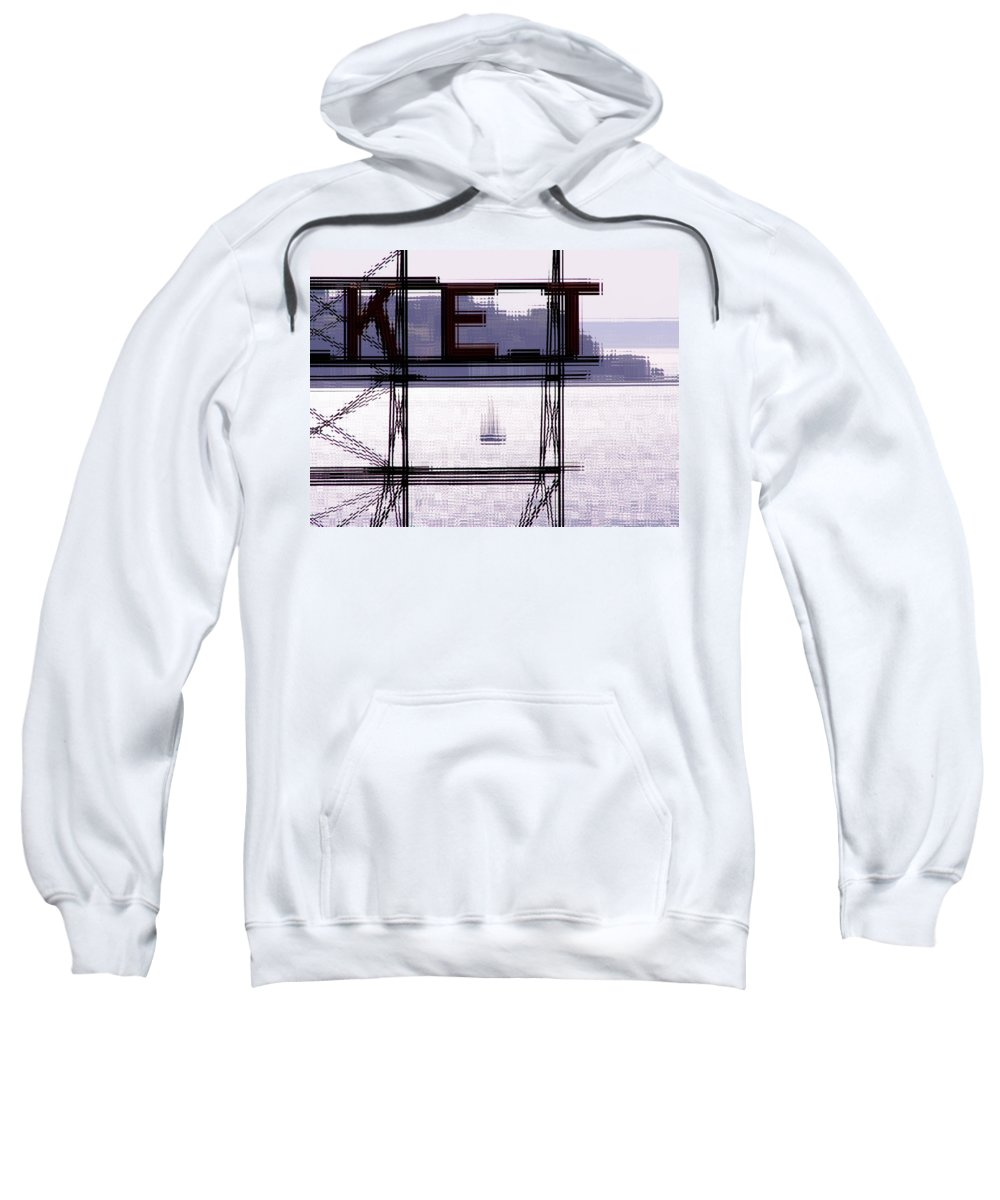 Seattle Sweatshirt featuring the digital art Market Sail by Tim Allen