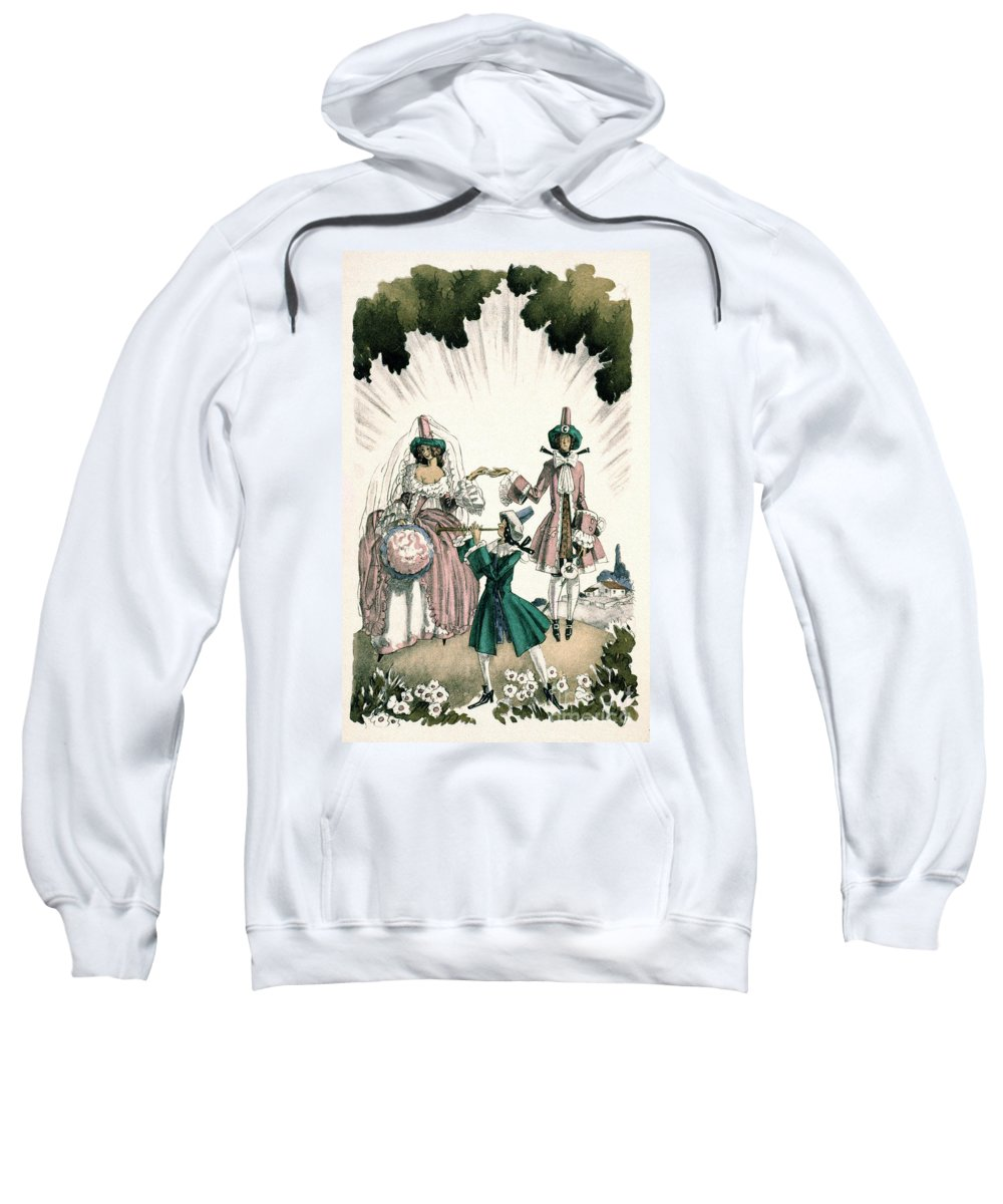 18th Century Sweatshirt featuring the photograph Marriage Of Candide by Granger