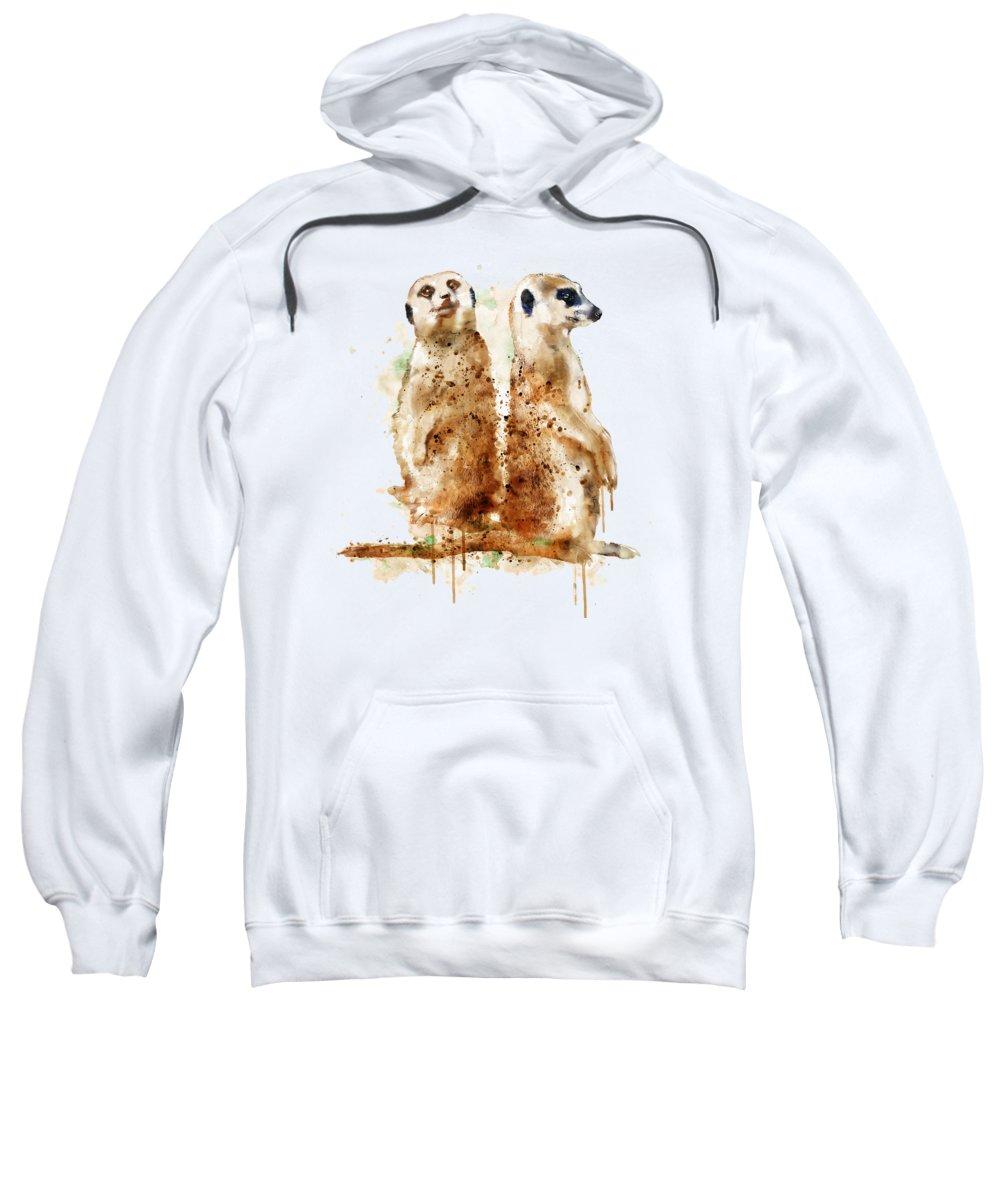 Meerkat Hooded Sweatshirts T-Shirts