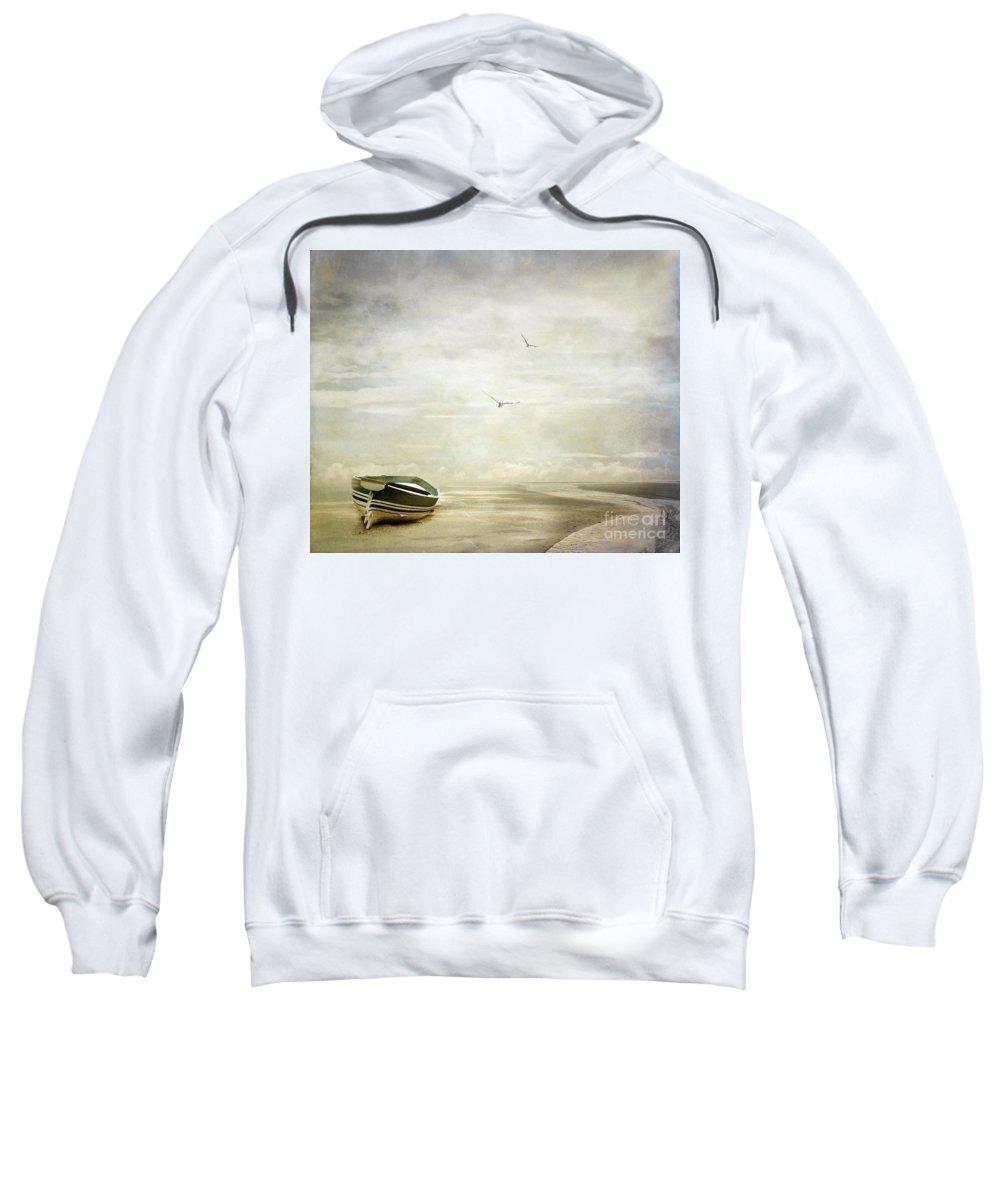 Beach Sweatshirt featuring the photograph Memories by Jacky Gerritsen
