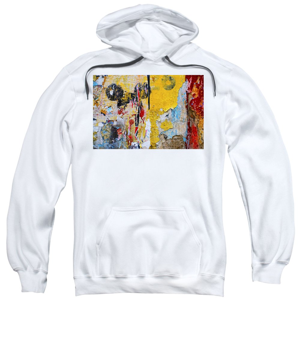 Mickey Mouse Sweatshirt featuring the photograph Mickeys Nightmare by Skip Hunt