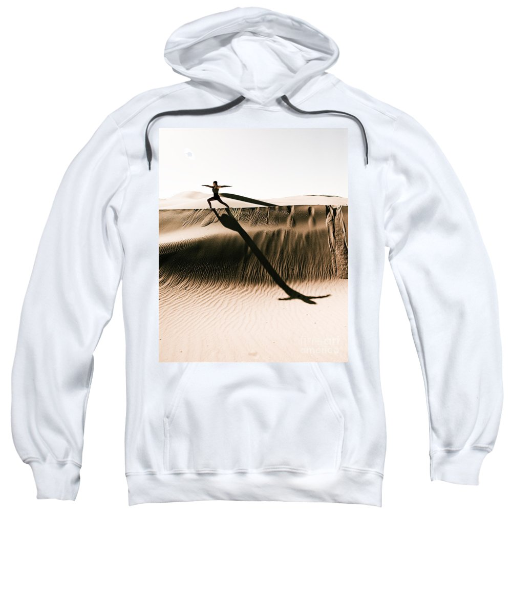 Yoga Sweatshirt featuring the photograph Mid Morning Anthem by Scott Sawyer