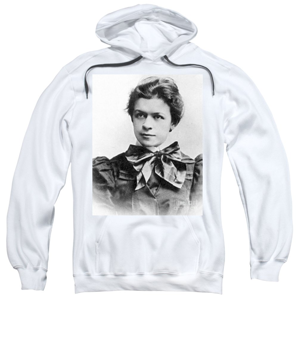 19th Century Sweatshirt featuring the photograph Mileva Maric (1875-1948) by Granger