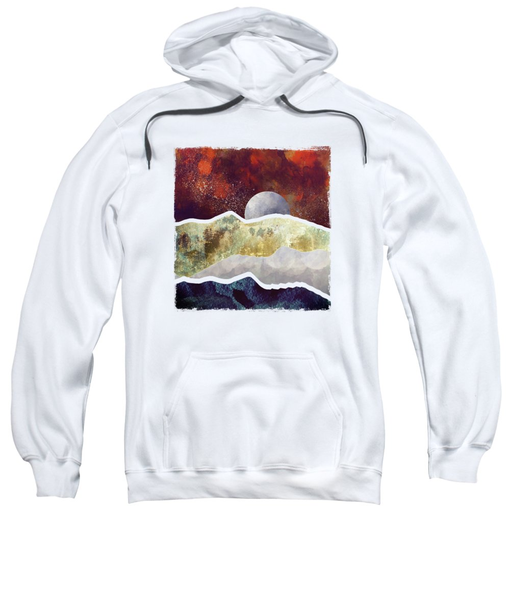 Milky Way Digital Art Hooded Sweatshirts T-Shirts