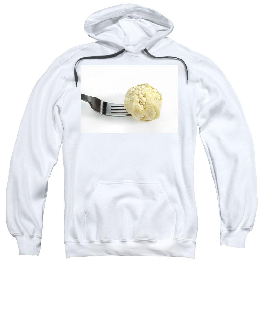 Botany Sweatshirt featuring the photograph Miniature Cauliflower by Gerard Lacz