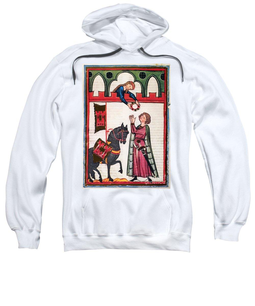 14th Century Sweatshirt featuring the photograph Minnesinger Lieder by Granger
