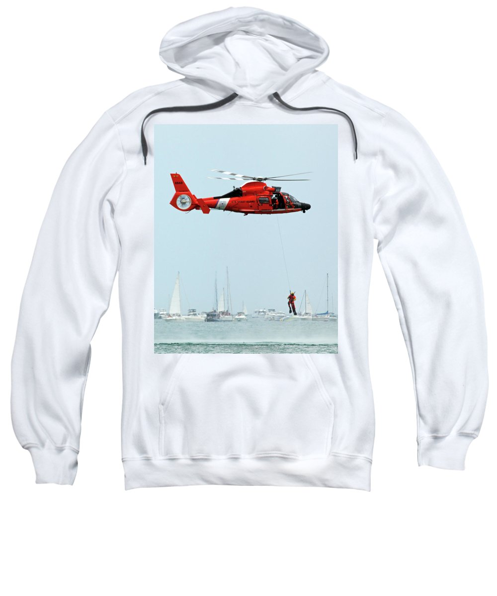 Flight Sweatshirt featuring the photograph Mission Complete by Rick Selin