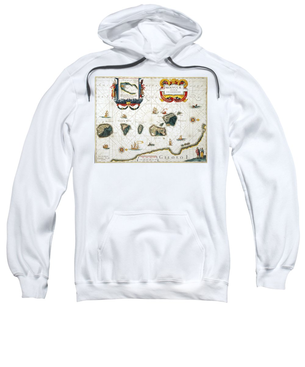 1662 Sweatshirt featuring the photograph Moluccas: Spice Islands by Granger