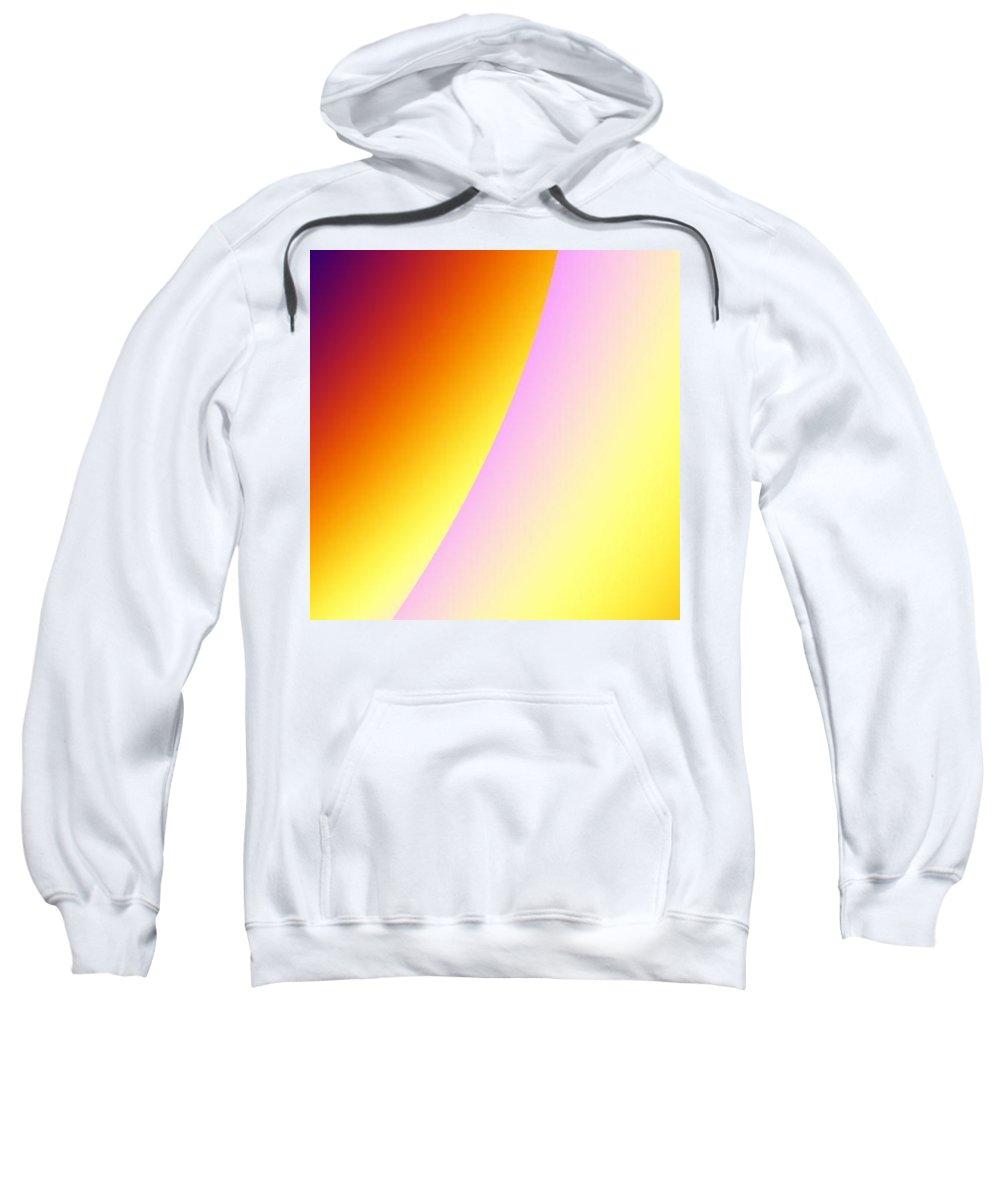 Digital Art Sweatshirt featuring the digital art Moon II by Dragica Micki Fortuna