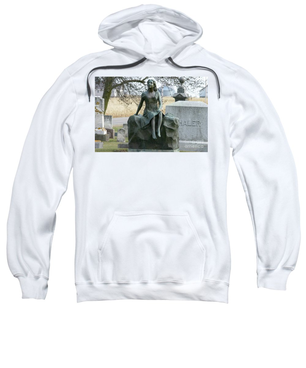 Photography Sweatshirt featuring the photograph Morning Of Life by Lana Raffensperger