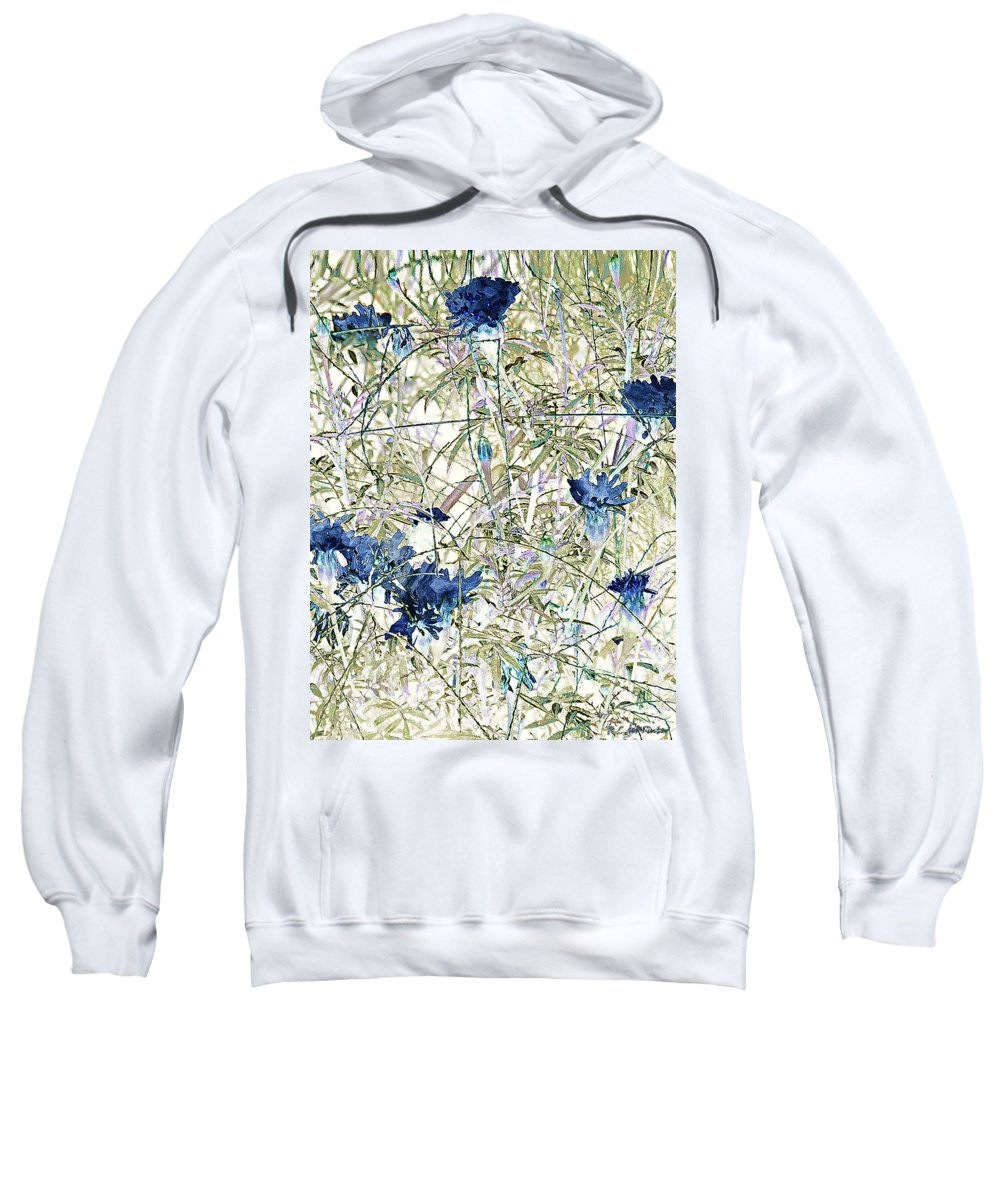 Asian Sweatshirt featuring the painting Motif Japonica No. 10 by RC DeWinter