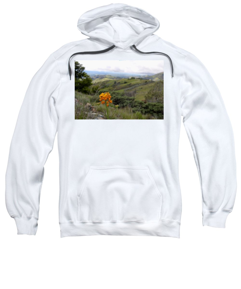 Flowers Sweatshirt featuring the photograph Mountain Side by Erin Finnegan