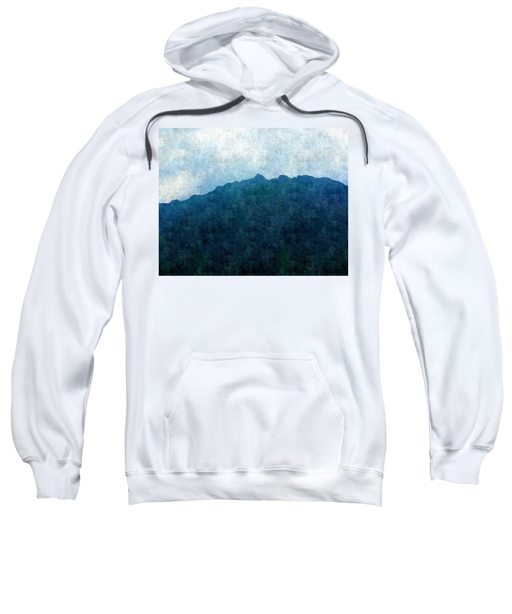 Sweatshirt featuring the photograph Mountine Air by Flip Suc