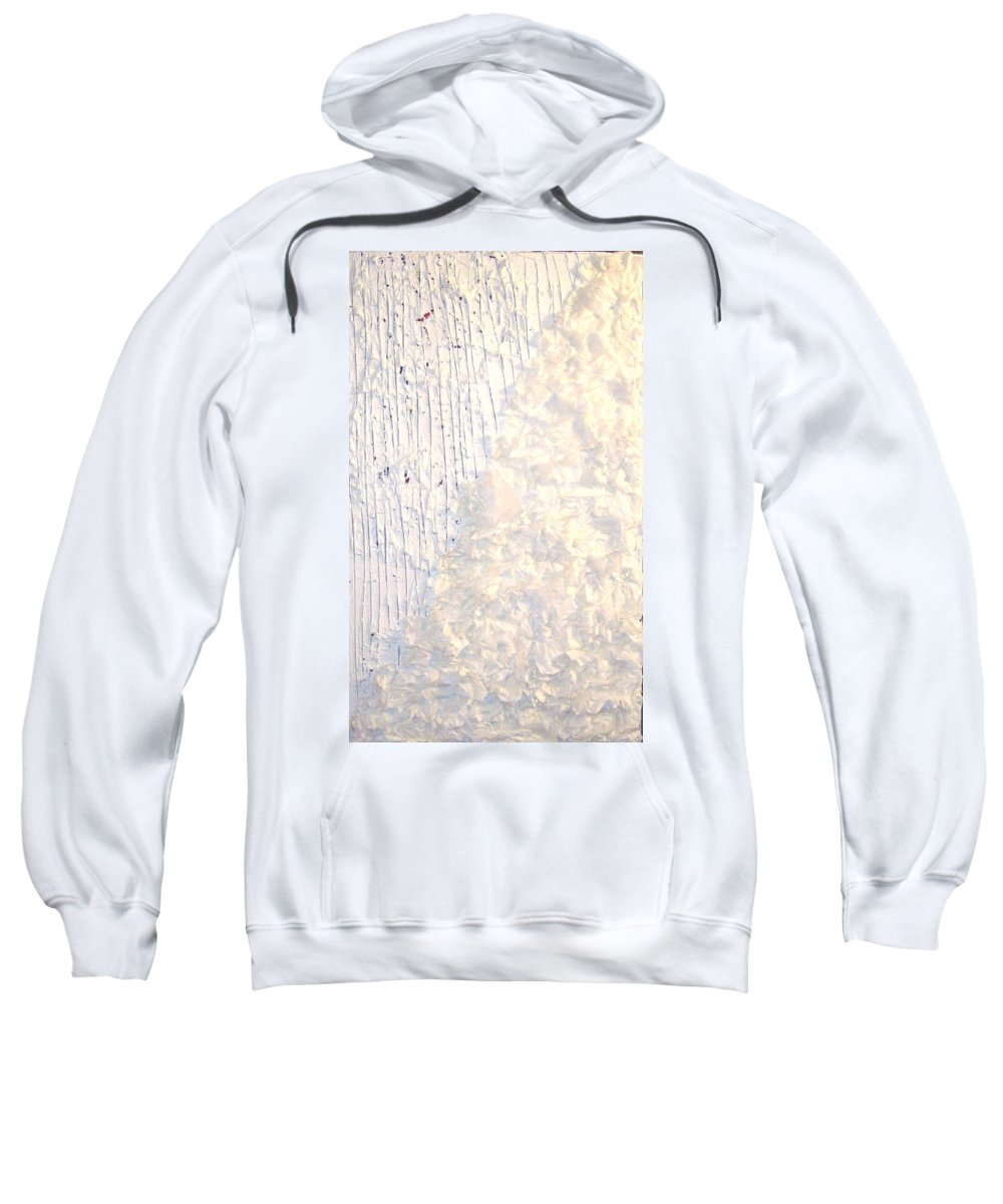 Moveonart! Digital Gallery Sweatshirt featuring the painting Moveonart Brush Of An Angels Wing 1 by Jacob Kanduch