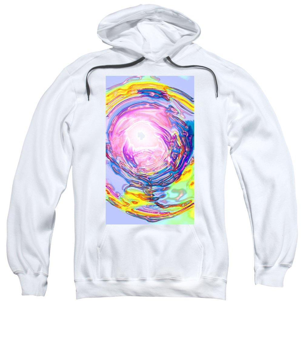 Moveonart! Digital Gallery Sweatshirt featuring the digital art Moveonart Deeper Calling by Jacob Kanduch