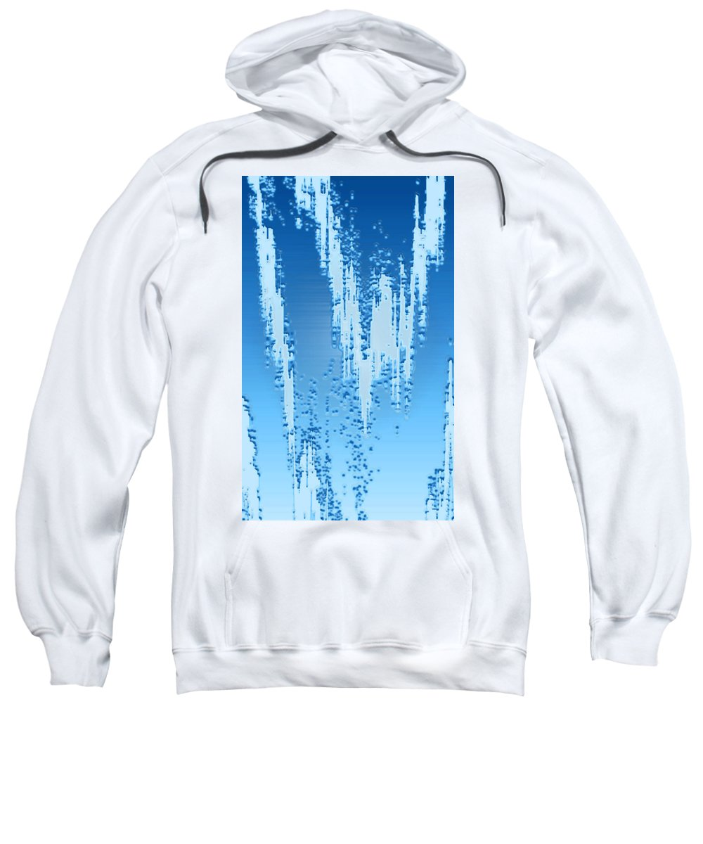 Moveonart! Digital Gallery Sweatshirt featuring the digital art Moveonart Dream Research Two by Jacob Kanduch