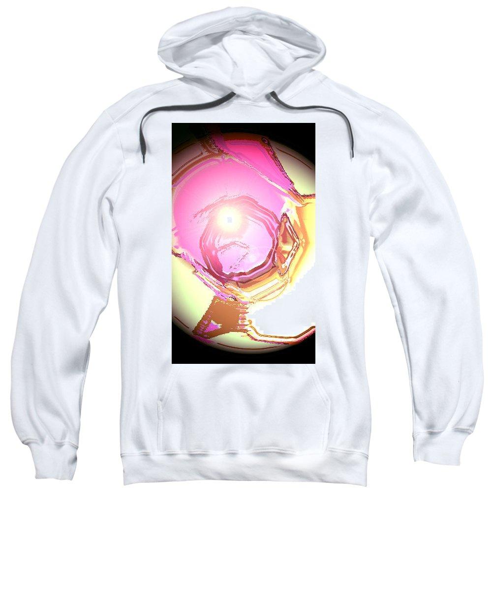 Moveonart! Digital Gallery Sweatshirt featuring the digital art Moveonart Enlightenment Now by Jacob Kanduch