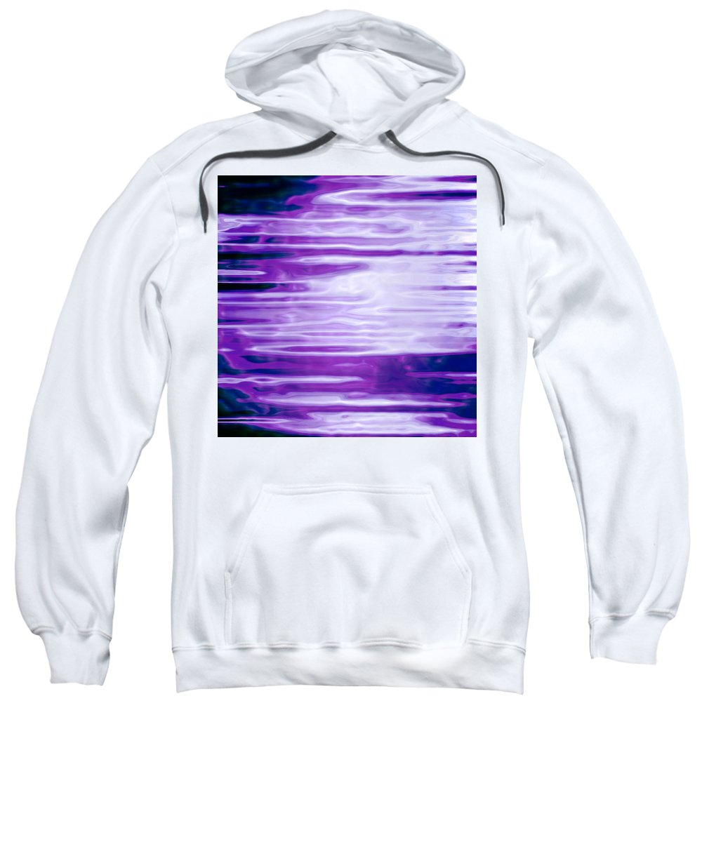 Moveonart! Digital Gallery Sweatshirt featuring the digital art Moveonart Future Message Transmit by Jacob Kanduch