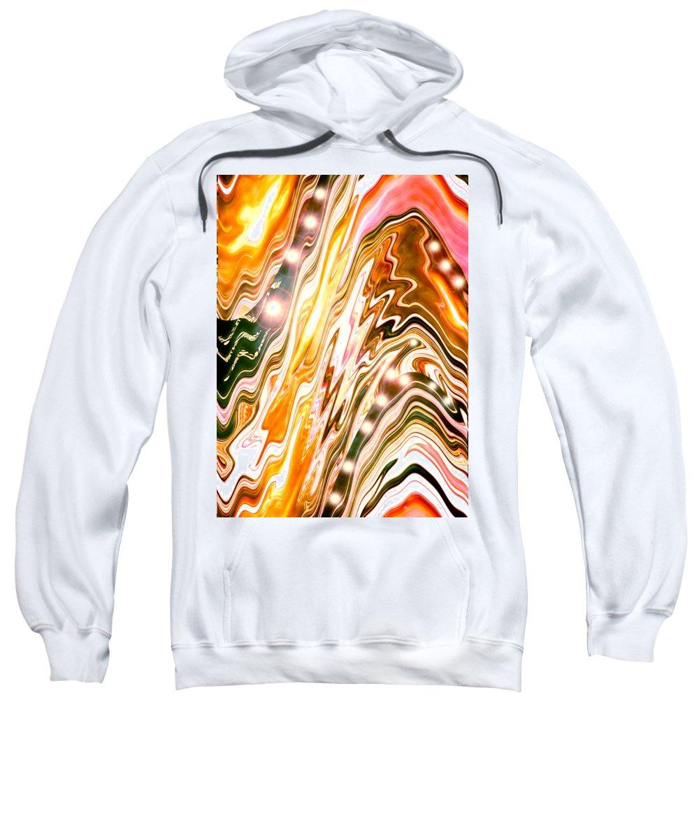 Moveonart! Digital Gallery Sweatshirt featuring the digital art Moveonart Letting Go Three by Jacob Kanduch