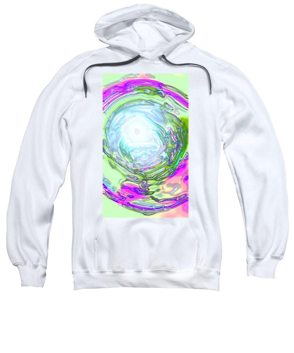 Moveonart! Digital Gallery Sweatshirt featuring the digital art Moveonart New Possiblity by Jacob Kanduch