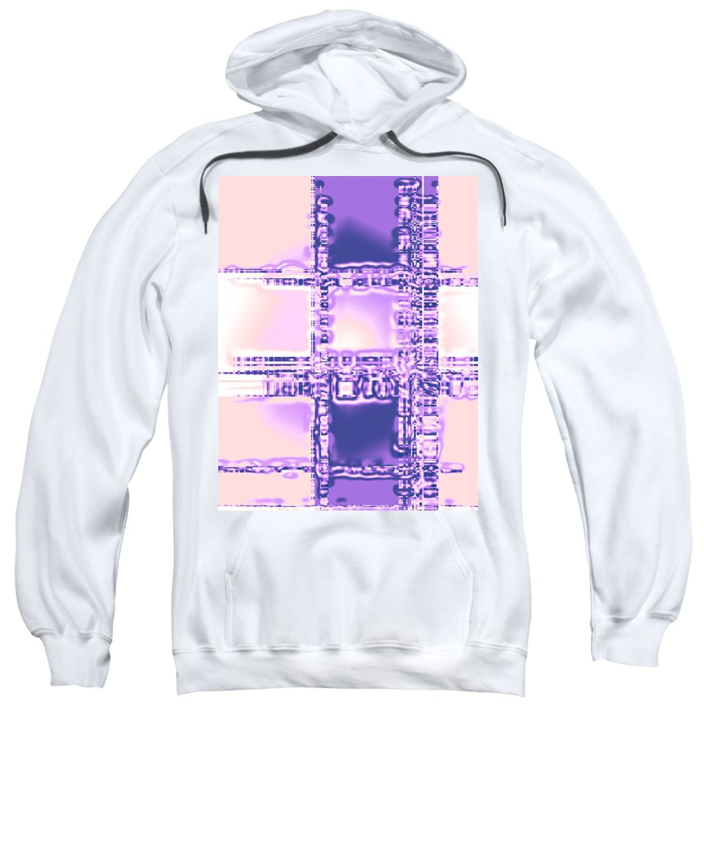 Moveonart! Digital Gallery Sweatshirt featuring the digital art Moveonart Plan To Be A City Man by Jacob Kanduch