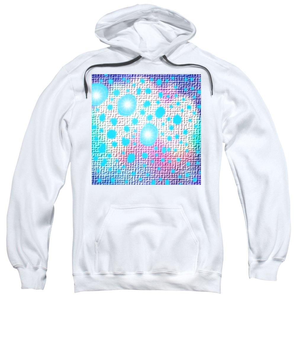 Moveonart! Digital Gallery Sweatshirt featuring the digital art Moveonart Simple To Illuminate by Jacob Kanduch