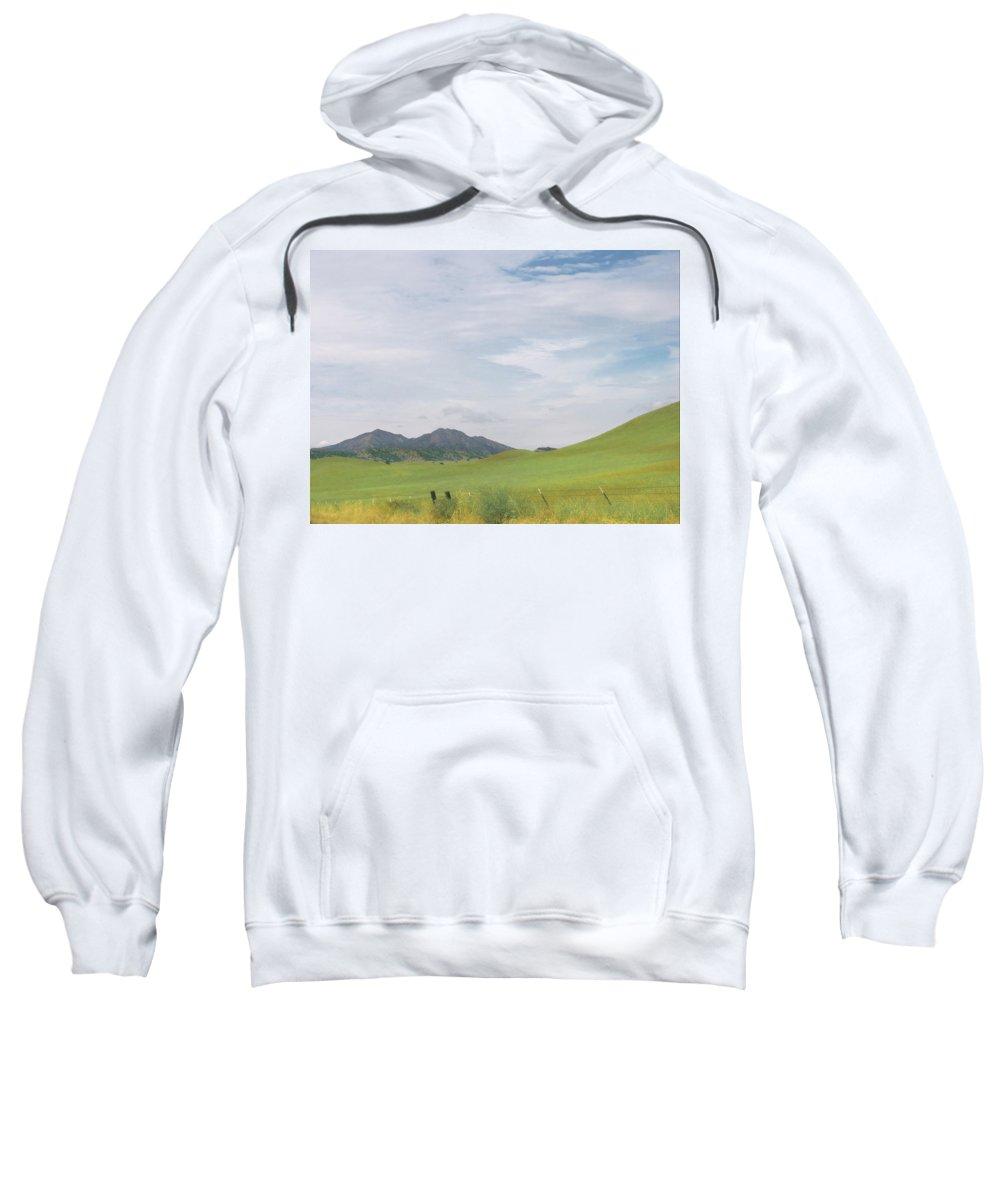 Landscape Sweatshirt featuring the photograph Mt. Diablo Mcr 1 by Karen W Meyer