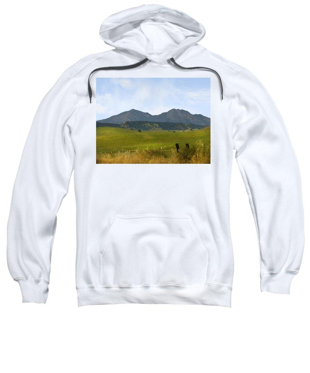Landscapes Sweatshirt featuring the photograph Mt. Diablo Mcr2 by Karen W Meyer
