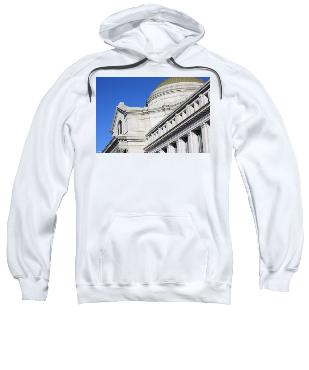 Museum Sweatshirt featuring the photograph Museum Of Natural History by Ronald Reid
