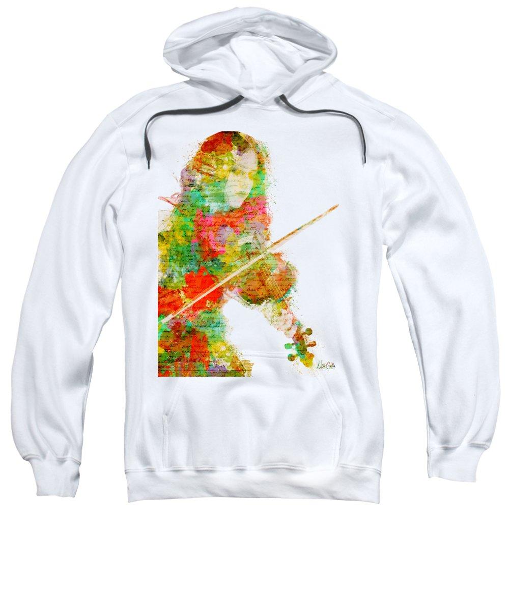 Violin Hooded Sweatshirts T-Shirts